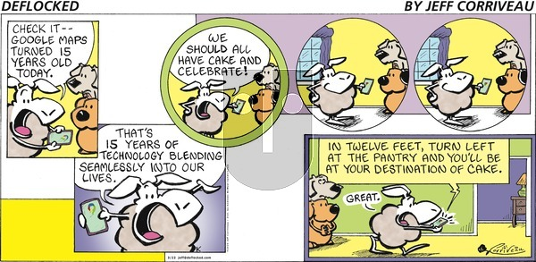 DeFlocked on Sunday March 22, 2020 Comic Strip