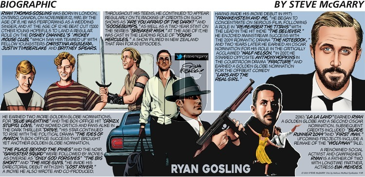 Biographic on Sunday April 18, 2021 Comic Strip