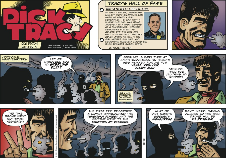 Dick Tracy by Mike Curtis and Shelley Pleger on Sun, 10 Oct 2021