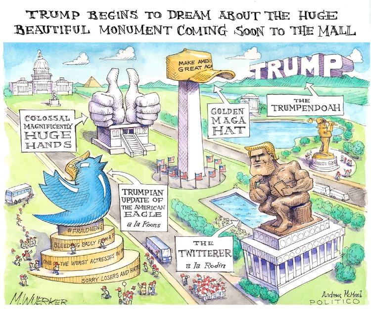 Matt Wuerker Comic Strip for July 09, 2017