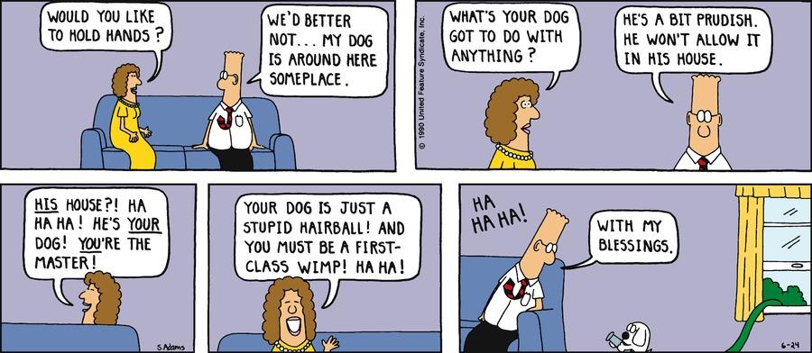 Dilbert Classics Comic Strip for August 25, 2013