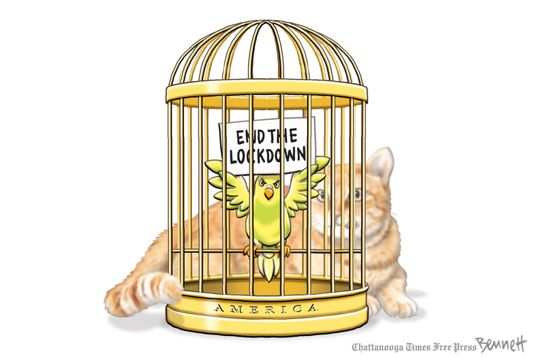 Clay Bennett by Clay Bennett on Tue, 05 May 2020