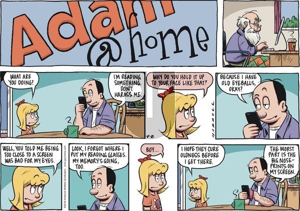 Adam@Home on Sunday April 8, 2018 Comic Strip