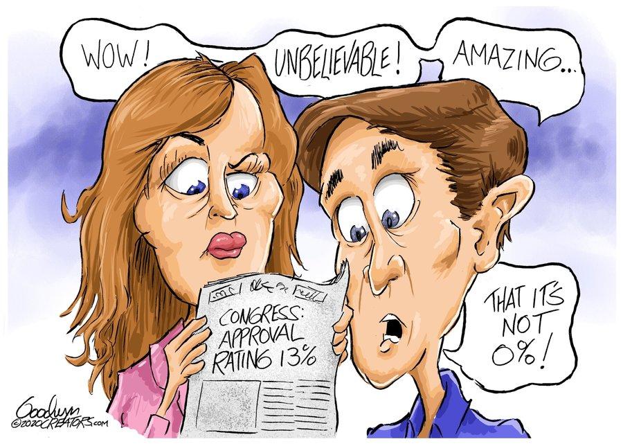 Al Goodwyn Editorial Cartoons Comic Strip for December 29, 2020