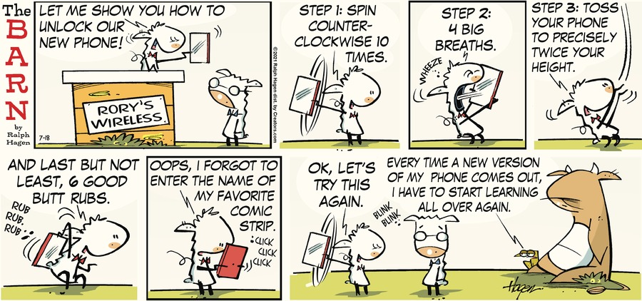 The Barn Comic Strip for July 18, 2021
