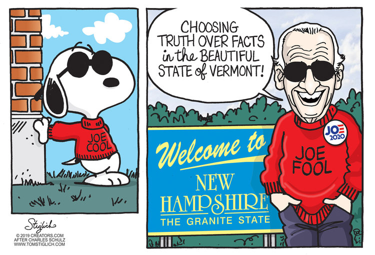 Tom Stiglich Comic Strip for September 19, 2019