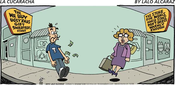 La Cucaracha for Dec 26, 2010 Comic Strip