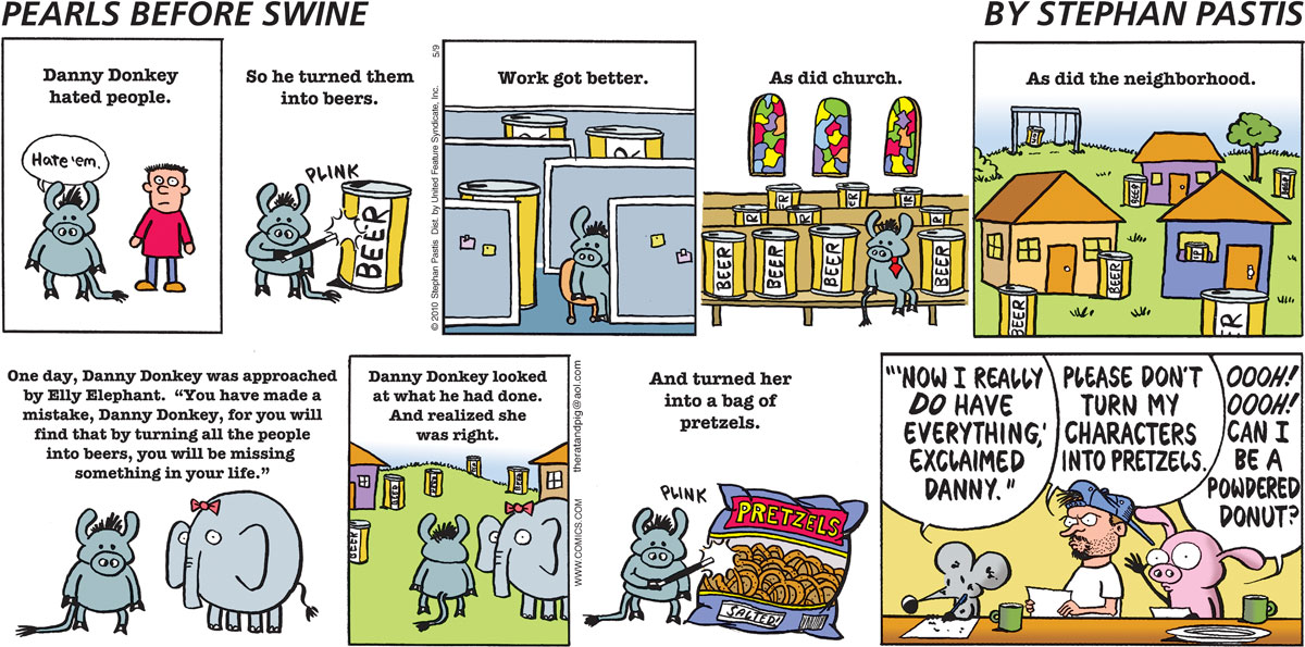 Pearls Before Swine Comic Strip for May 09, 2010