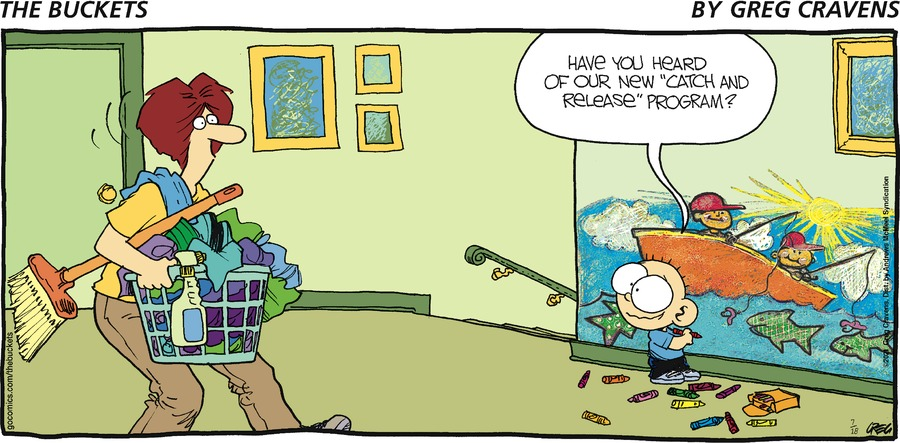 The Buckets Comic Strip for July 18, 2021