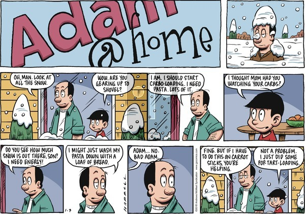 Adam@Home on Sunday January 7, 2018 Comic Strip