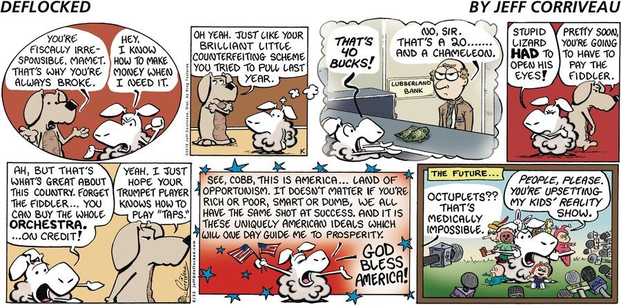 DeFlocked for Aug 22, 2010 Comic Strip