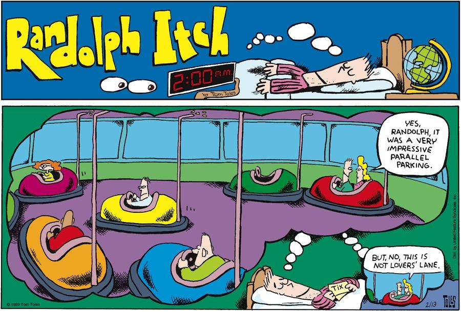 Randolph Itch, 2 a.m. for Jan 27, 2013 Comic Strip