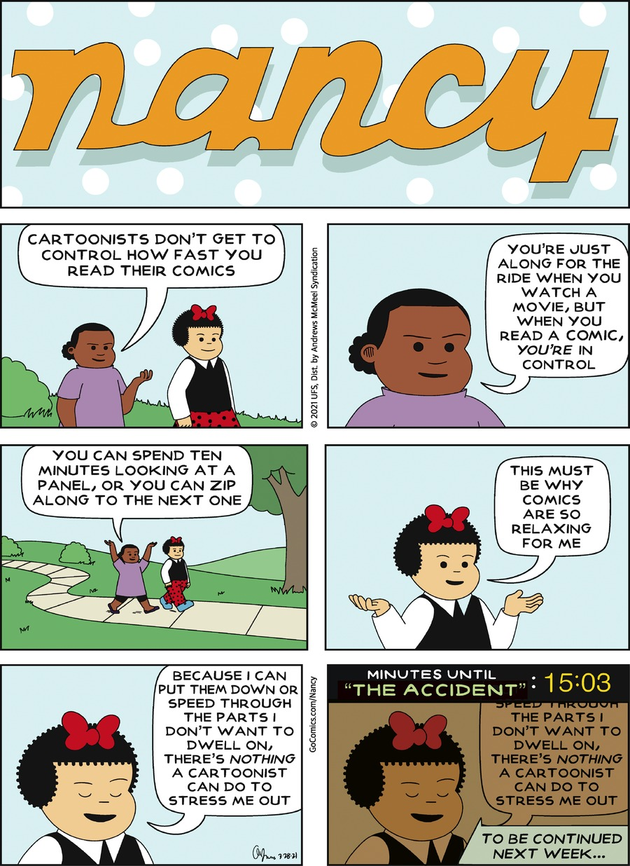 Nancy Comic Strip for March 28, 2021
