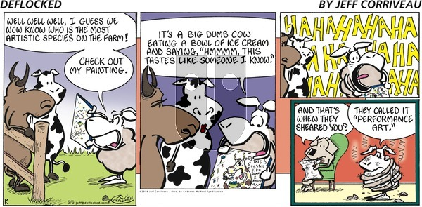 DeFlocked on Sunday May 6, 2018 Comic Strip