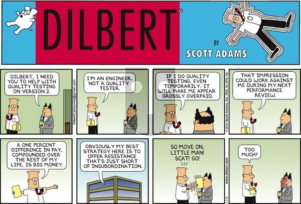 Dilbert - Sunday March 7, 2010 Comic Strip