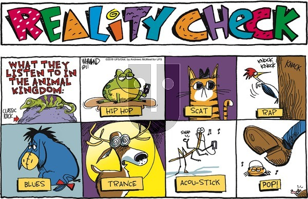 Reality Check - Sunday August 11, 2019 Comic Strip