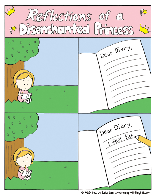Reflections of a disenchanted princess