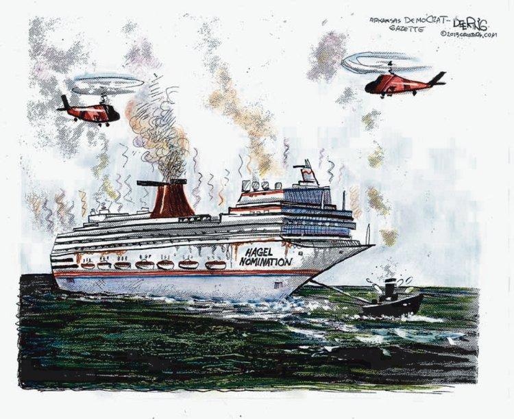 John Deering for Feb 17, 2013 Comic Strip
