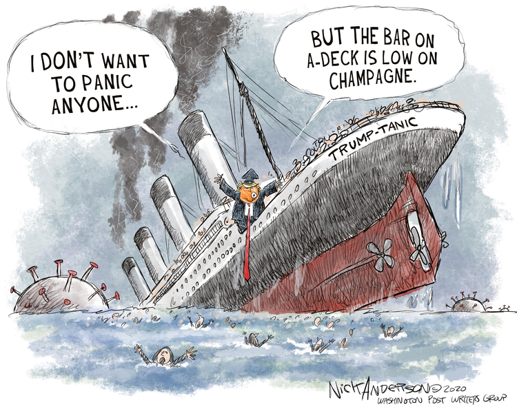 Nick Anderson Comic Strip for September 14, 2020