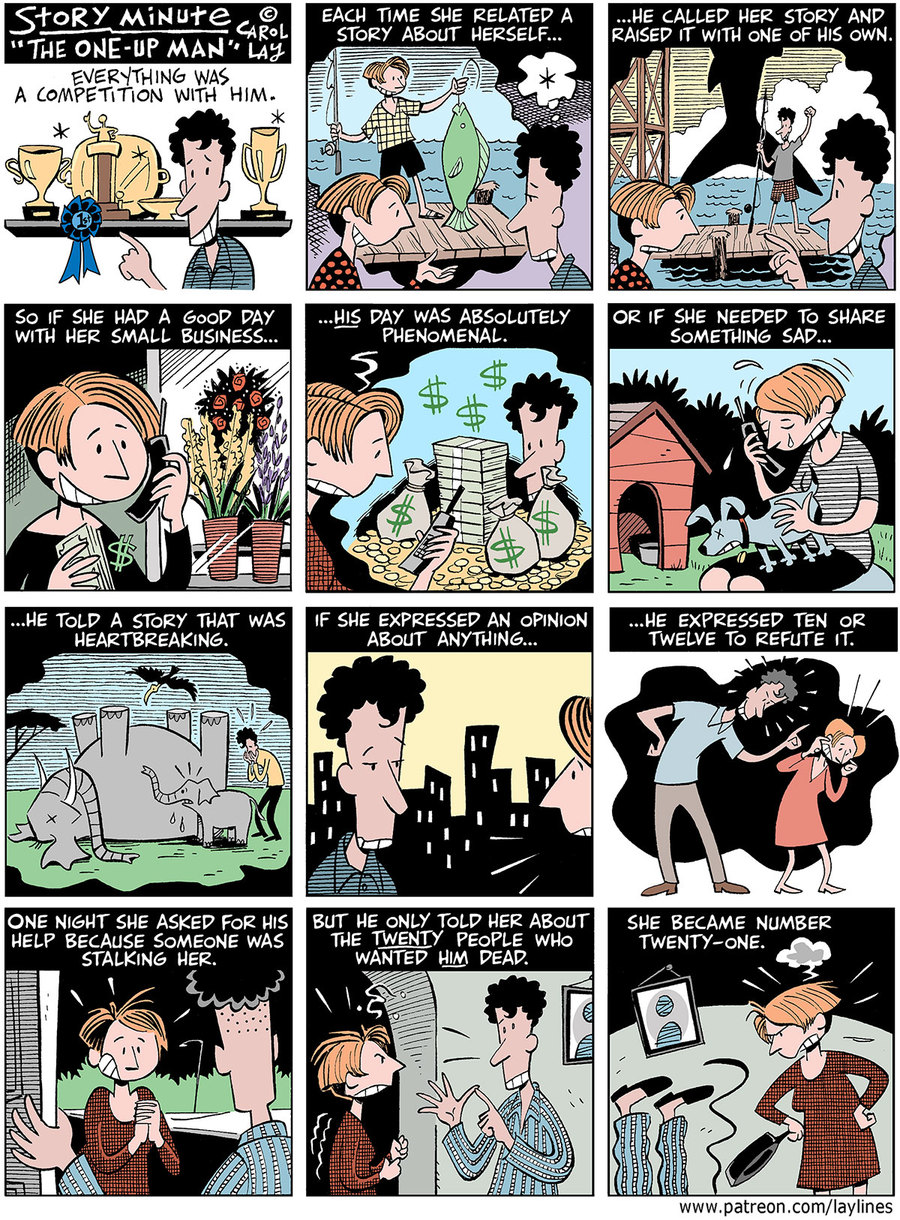 Lay Lines Comic Strip for September 02, 2019