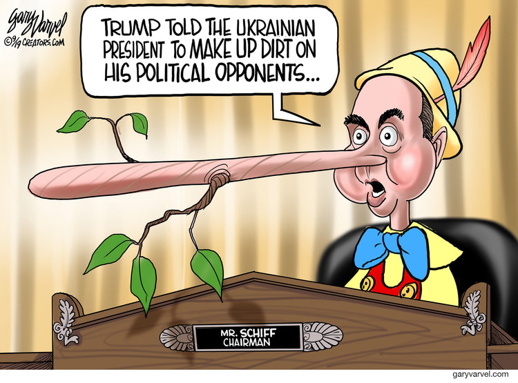 Gary Varvel Comic Strip for September 27, 2019