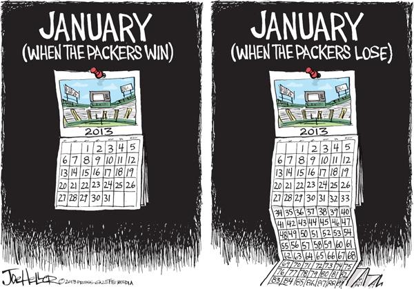Joe Heller for Jan 6, 2013 Comic Strip