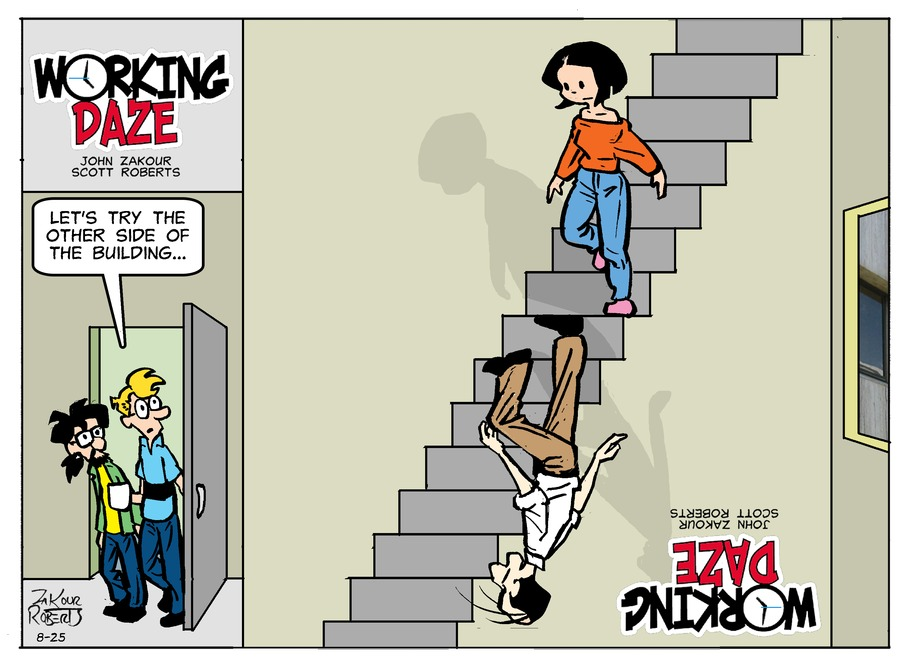 Working Daze Comic Strip for August 25, 2019