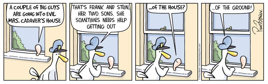 Ollie and Quentin for Mar 29, 2013 Comic Strip