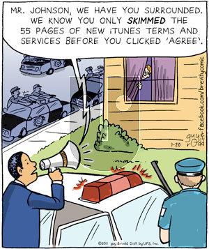 Brevity on Thursday January 20, 2011 Comic Strip