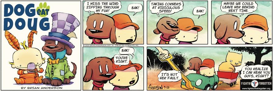 Dog Eat Doug Comic Strip for September 20, 2020