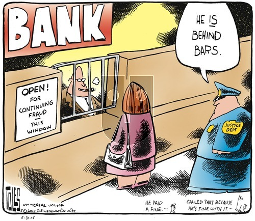 Tom Toles - Sunday May 31, 2015 Comic Strip