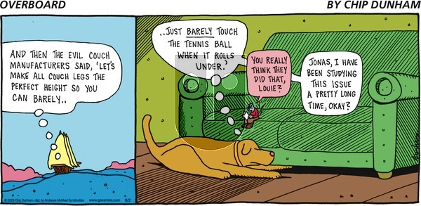 Overboard - Sunday August 2, 2020 Comic Strip
