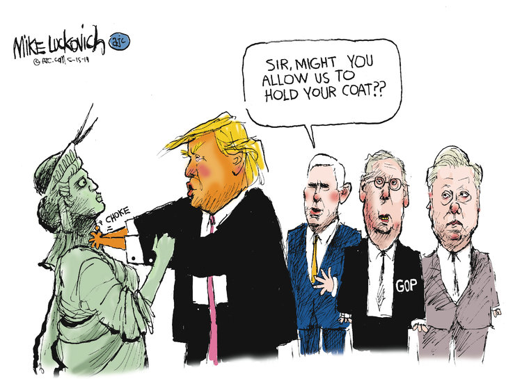 Mike Luckovich by Mike Luckovich for May 15, 2019