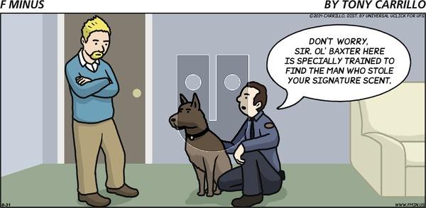 F Minus on Sunday August 31, 2014 Comic Strip