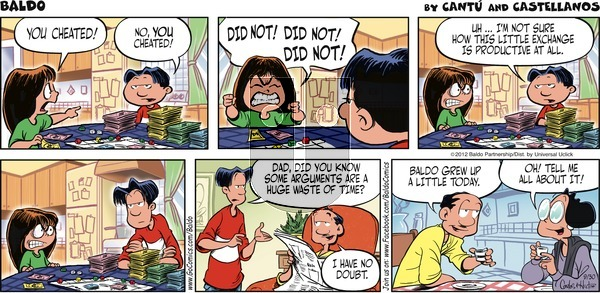 Baldo on Sunday September 30, 2012 Comic Strip