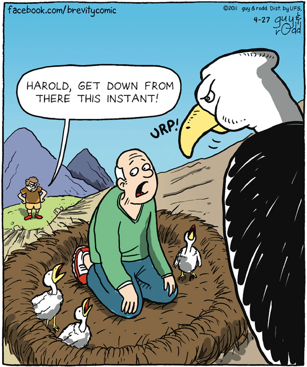 Brevity Comic Strip for April 27, 2011