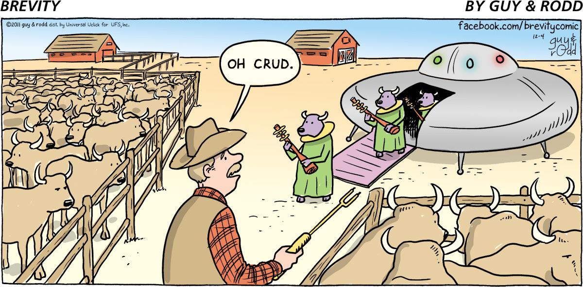 Brevity for Dec 4, 2011 Comic Strip
