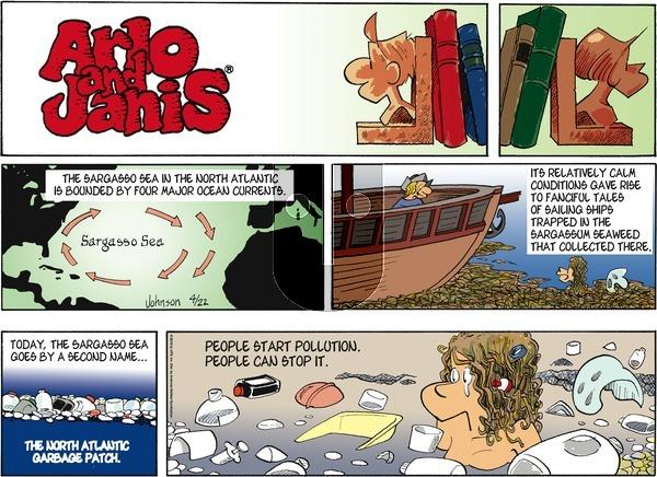 Arlo and Janis on Sunday April 22, 2018 Comic Strip
