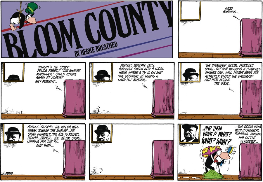 Bloom County by Berkeley Breathed on Mon, 11 Oct 2021