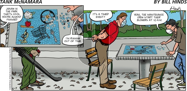Tank McNamara - Sunday June 7, 2020 Comic Strip