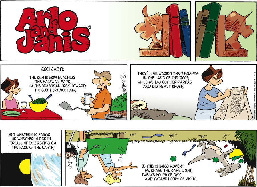 Arlo and Janis by Jimmy Johnson for September 22, 2019