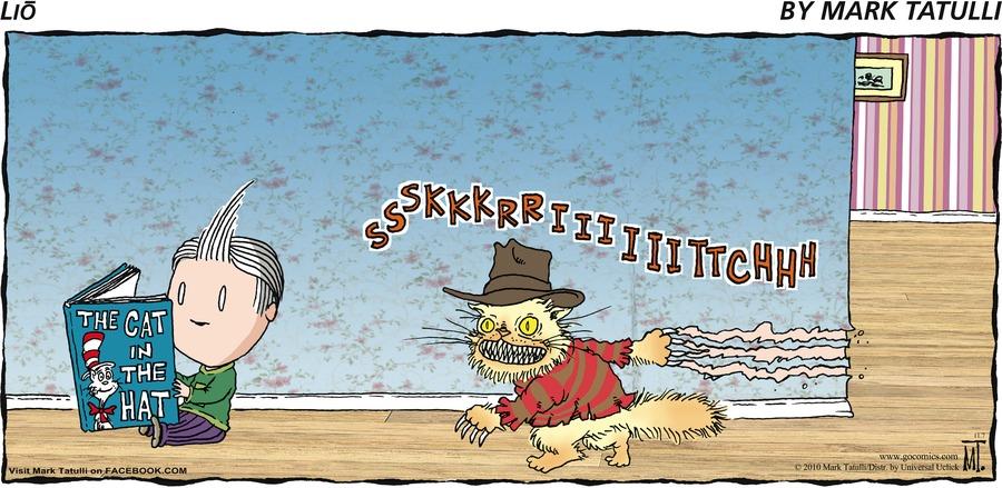 Lio Comic Strip for November 07, 2010