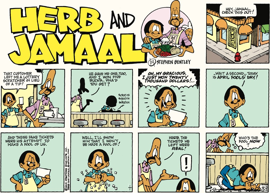 Herb and Jamaal Comic Strip for July 02, 2017