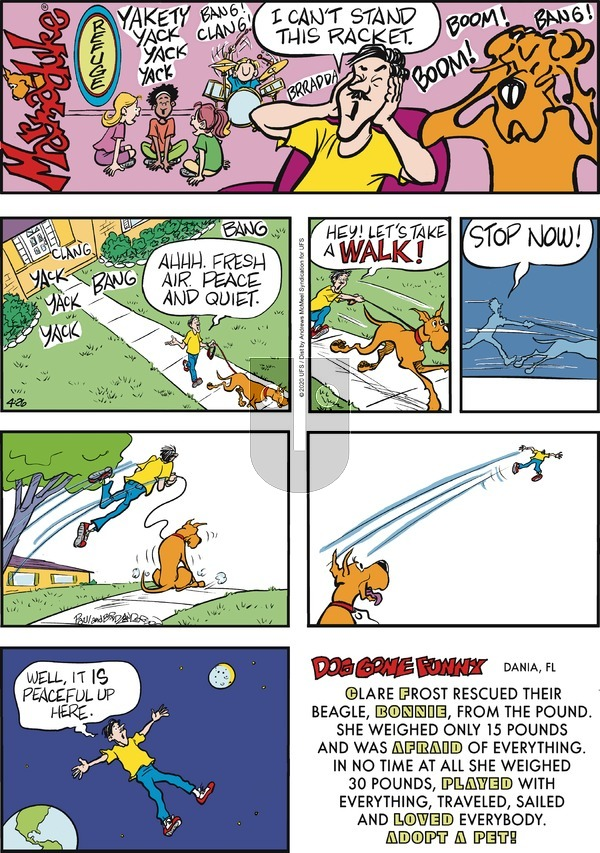 Marmaduke on Sunday April 26, 2020 Comic Strip