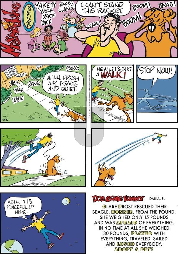 Marmaduke - Sunday April 26, 2020 Comic Strip