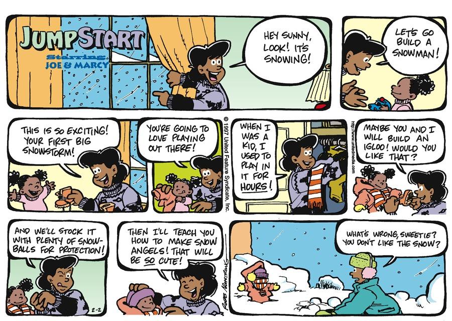 JumpStart for Feb 2, 1997 Comic Strip