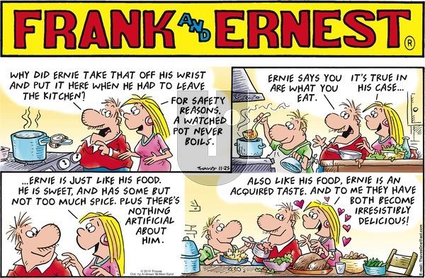 Frank and Ernest - Sunday November 25, 2018 Comic Strip