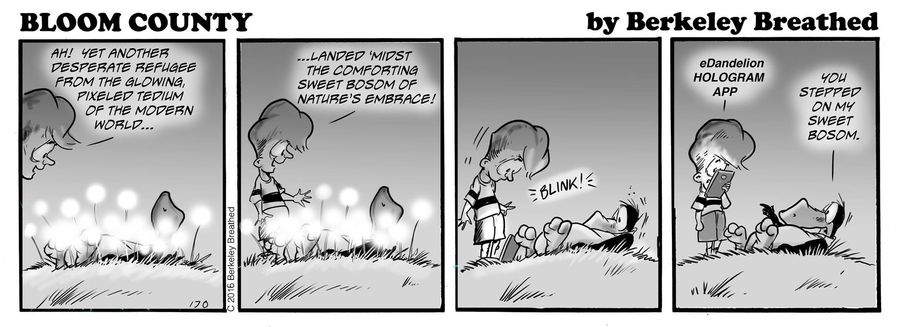 Bloom County 2019 Comic Strip for April 05, 2016