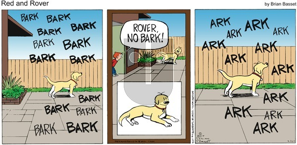 Red and Rover on Sunday September 24, 2017 Comic Strip