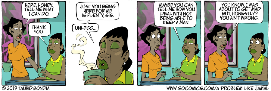 A Problem Like Jamal Comic Strip for March 08, 2019